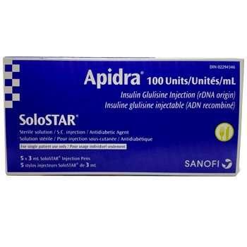 Apidra SoloStar Pen 100 Units / mL
