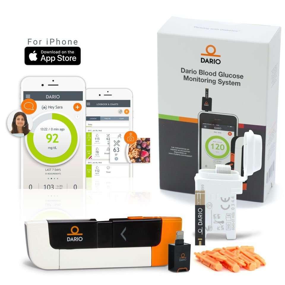 Dario Blood Glucose Monitor