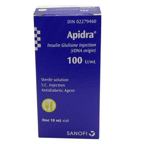 Apidra Vials 100 Units / mL