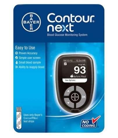 Contour Next Blood Glucose Monitor