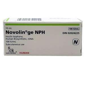 Novolin GE NPH Vial 100 Units / mL