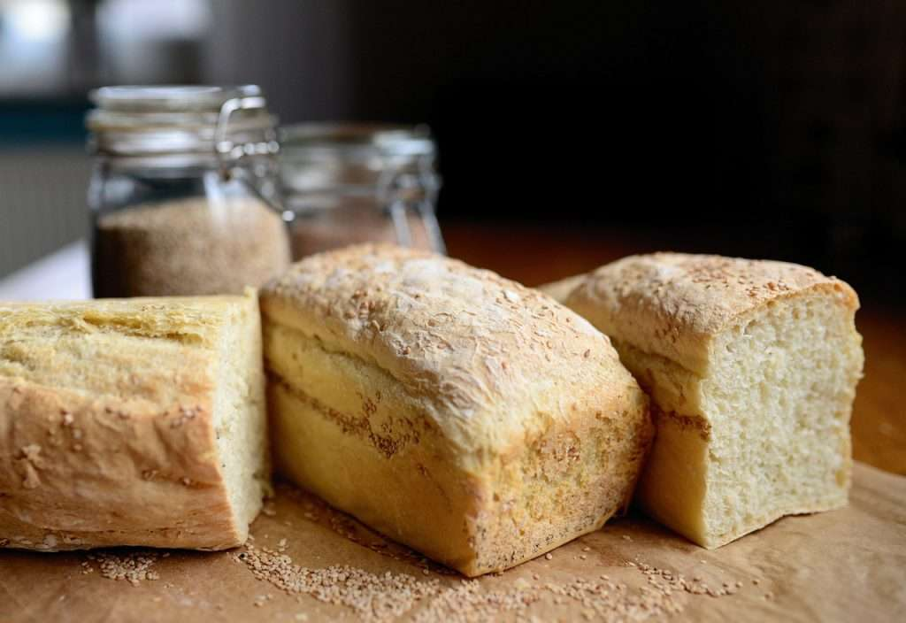 Three loaves of bread