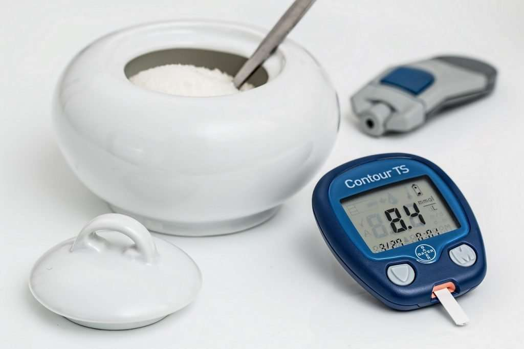 Sugar and Blood Glucose Meter