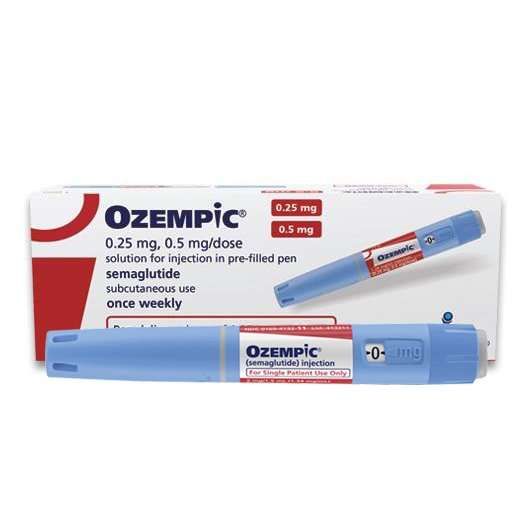 Ozempic Semaglutide Injection (0.25mg/0.5mL)
